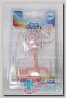 Canpol babies клипса-держатель д/пустышки Newborn Baby +0мес N 1