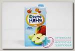 ФрутоНяня Сок яблоко/персик/мяк/без сах 500мл N 1