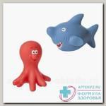 Курносики набор игрушек для ванны Осьминог и акула 6+ ( 25036) N 1