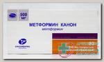 Метформин Канон тб п/о плен 500 мг N 60