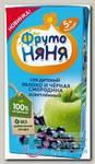 ФрутоНяня Сок яблоко/черная смородина осветл без сахара 200мл 5+мес N 1