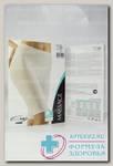 Relaxsan шорты до колена из микрофибры а/целюллит цвет черный р-р M/L