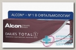 Alcon Dailies Total 1 однодневные контактные линзы D 14.1/R 8.5/ -4.50 N 30