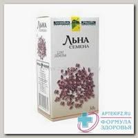 Льна посевного семена 100г фирма Здоровье N 1