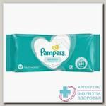 Салфетки влажные Памперс детские sensitive fragrance-free N 52
