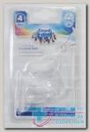 Canpol babies соска молочная круглая силиконовая антиколиковая д/каши +6мес N 1