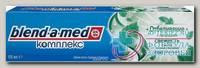 Зубная паста Blend-a-med комплекс с двойной системой отбеливания 100мл мята+эвкалипт N 1