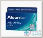 Alcon Air Optix Aqua 30тидневные контактные линзы D 14.2/R 8.6/ -1.50 N 3