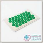 Аппликатор тибетский на мягкой подложке д/чувствительной кожи зеленый 12x22 см N 1