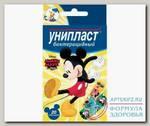 Унипласт набор детских бактерицидных пластырей Микки Маус и друзья N 20