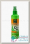 Чистая линия солнцезащитный спрей д/тела 160мл spf20+ д/загара водост N 1