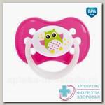 Canpol babies соска-пустышка силикон симметричная Owls 0-6мес N 1