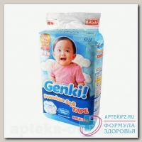 Genki Premium soft подгузники р М (6-11 кг) N 64