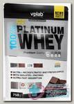 100% Platinum Whey со вкусом шоколад 750г пакет N 1