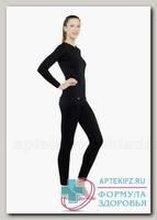Термобелье женское р.46-48 (ICDWS-212-L) футболка с длин рукавом + леггинсы 100%шерсть джинс N 1