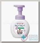 LION Kirei Kirei Пенное мыло для рук с ароматом цветов, флакон-дозатор, 250 мл N 1