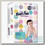 YourSun подгузники р-р M (5-10кг) N 60