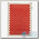 Иппликатор тибетский на мягкой подложке д/чувствительной кожи красный 41x60см N 1
