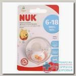 Nuk Trendline Винни соска-пустышка ортодонтическая латекс 6-18 мес р 2 N 1