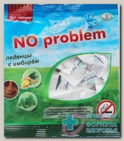 Леденцы No problem с имбирем б/сахара 50г на изомальте N 1