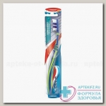 Аквафреш Зубная щетка Clean и Reach средняя N 1