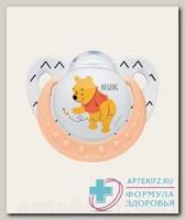 Nuk Trendline Винни соска-пустышка ортодонтическая силикон 6-18 мес р 2 N 1