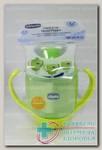 Chicco чашка-непроливайка трансформер 3-в-1 непроливайка 180мл +12мес N 1