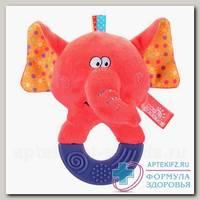 Мир детства игрушка мягконабивная цирковой слоник /33378/ 4+мес N 1