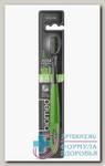 Biomed black зубная щетка средняя щетина с древесным углем N 1