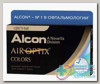 Alcon Air Optix Colors 30тидневные контактные линзы D 14.2/R 8.6/ -5.00 Green N 2