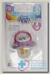 Canpol babies соска-пустышка латекcная круглая Animals 0-6мес N 1