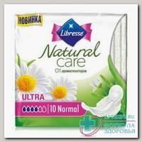Прокладки Либресс Natural care Ультра Нормал N 10