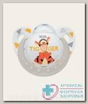 Nuk Trendline Винни/Тигр соска-пустышка ортодонтическая силикон 6-18 мес р 2 N 1