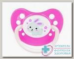 Canpol babies соска-пустышка силик симметр (23/269) 6-18мес Bunny и Co N 1