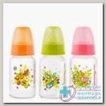 Мир детства бутылочка полипроп с силик соской 125мл /11210/ 0+мес N 1