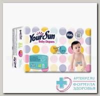 YourSun подгузники, XL (13-20 кг), 44 шт N 1