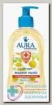 Аура мыло жидкое а/бактериальное ромашка 300мл N 1