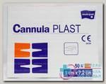 Повязка из неткан материала с впитыв прокладкой Matopat CannulaPlast 5смx7.2см N 50