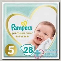 Памперс Премиум каре подгузники (р-р 5) 11+кг N 28