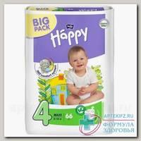 Подгузники Bella baby Happy 4 макси 8-18кг N 66