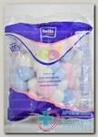 Ватные шарики Белла цветные N 100