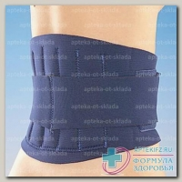 Intersan поясничный корсет с усилителями р-р S синий N 1