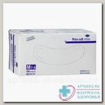 Hartmann Peha-soft nitrile перчатки нитриловые белые диагностические н/стер р М (7-8) N 100