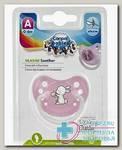 Canpol babies соска-пустышка силик ортодонтич (23/263) 6-18мес Little Cutie N 1