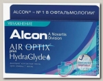 Alcon Air Optix plus HydraGlyde 30тидневные контактные линзы D 14.2/R 8.6/ -8.50 N 3