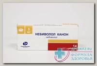 Небиволол Канон тб 5 мг N 14