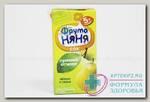 ФрутоНяня сок яблоко/груша прям отжим 200 мл N 1