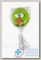 Карамель леденцовая Смайлы 12г яблоко 10 витаминов N 1