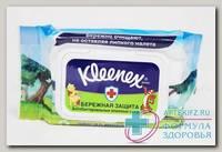 Kleenex салфетки влажные а/бактер дисней с пласт крышкой N 40