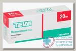 Лизиноприл - Тева тб 20 мг N 20